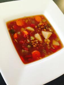 RB 1_28_14 Lentil soup